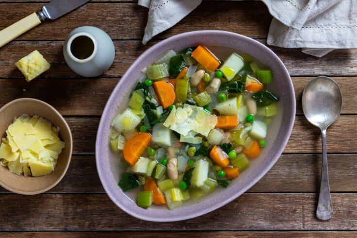 warming winter vegetable soup