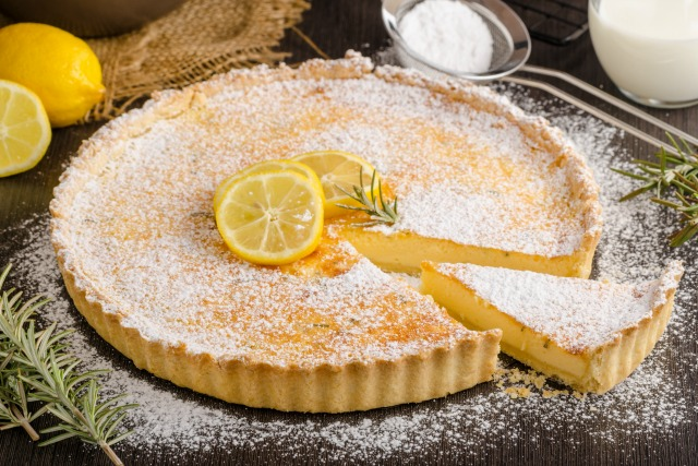 Classic French Lemon Tart For a Decadent but Frugal Dessert