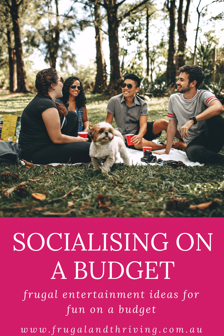 socialising on a budget