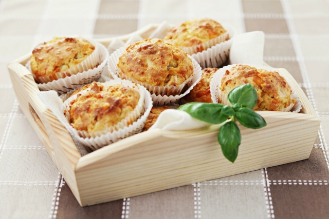 Hide the Vegetables with these Ham Cheese Muffins