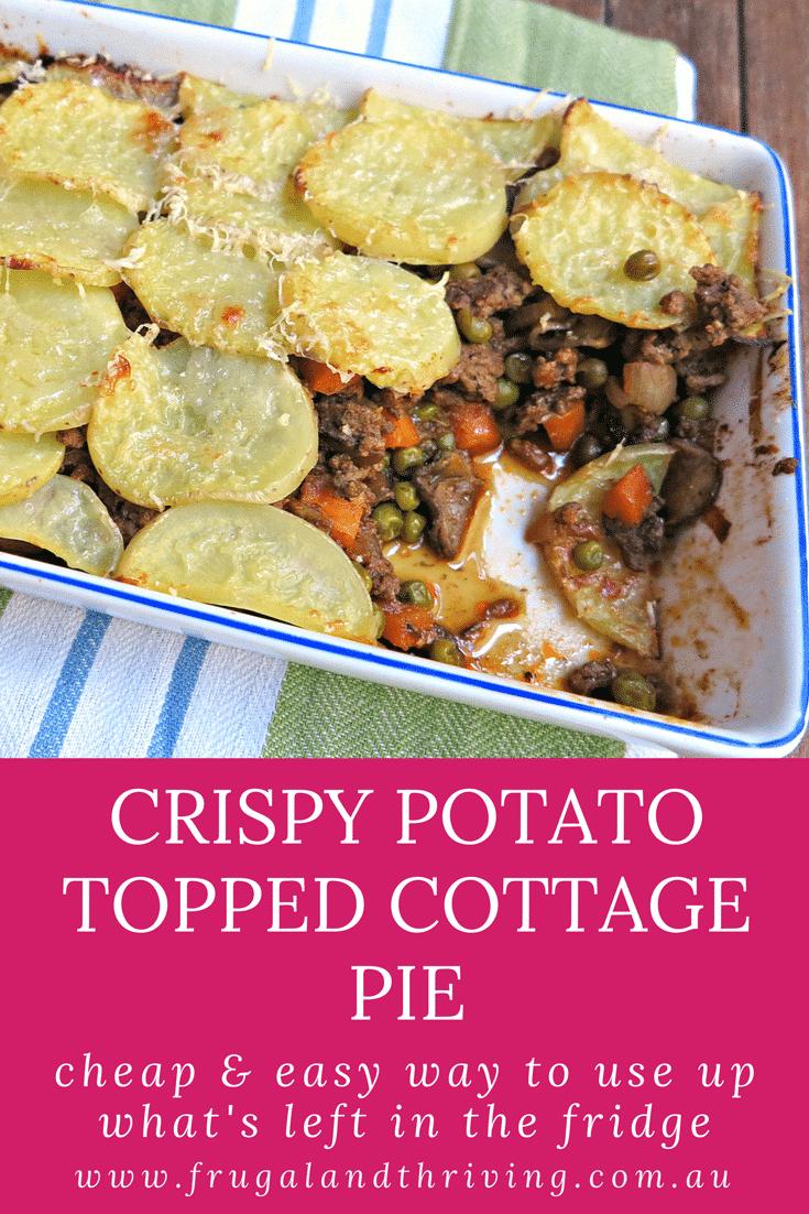 crispy potato topped cottage pie 1