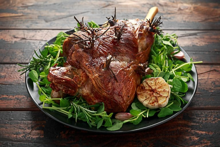 Basic Lamb Roast with Garlic and Rosemary + Ideas for Leftovers