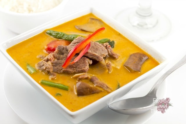 easy thai beef curry