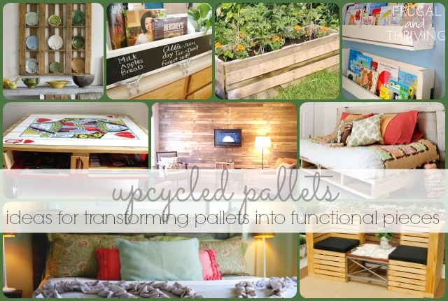 Upcycled Pallet Ideas – Transform Old Pallets Into Functional Home Pieces