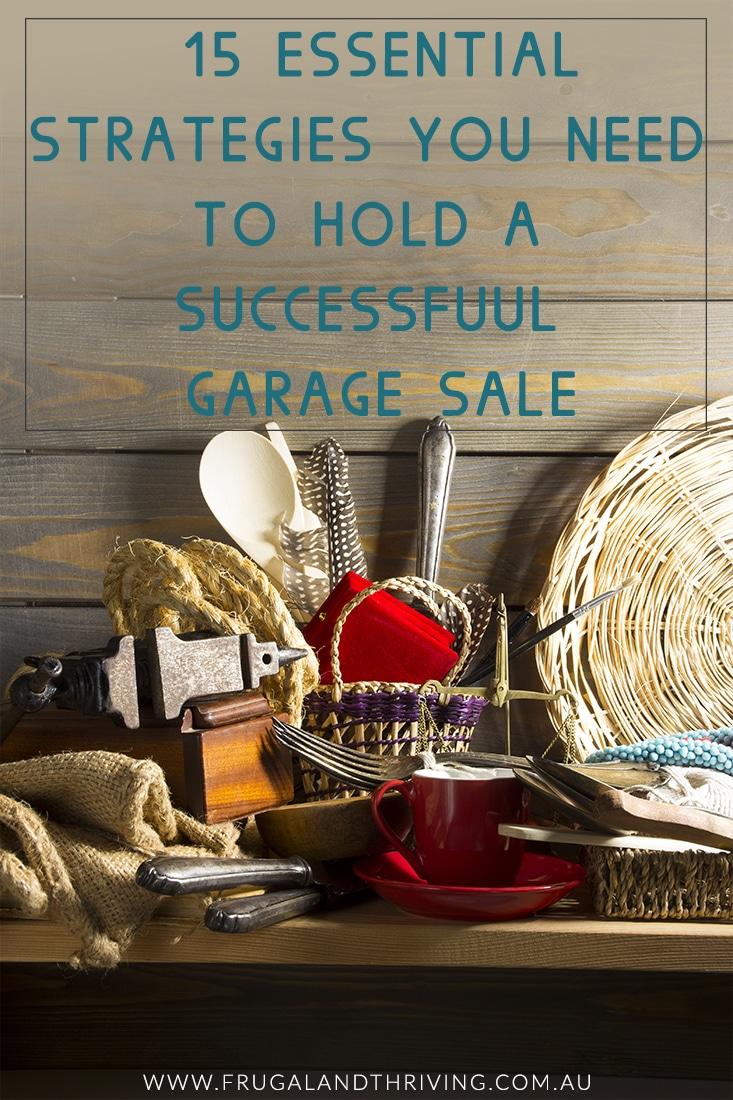 profitable garage sale tips