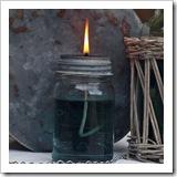 jar oil lamp