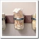 mason jar hanging storage