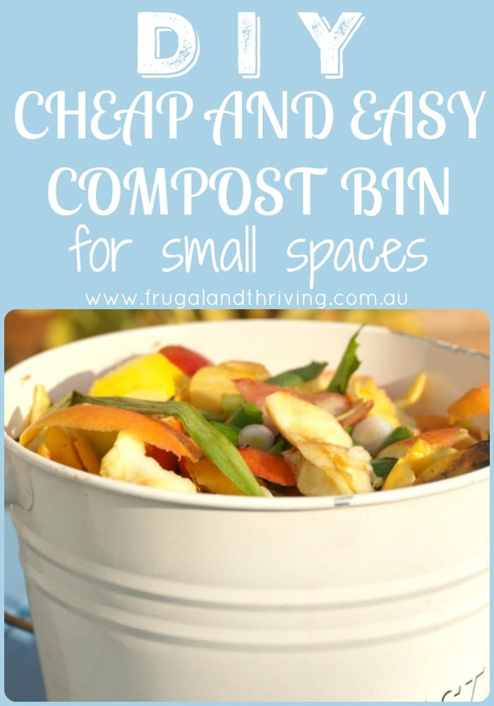 DIY Small Space Compost Bin