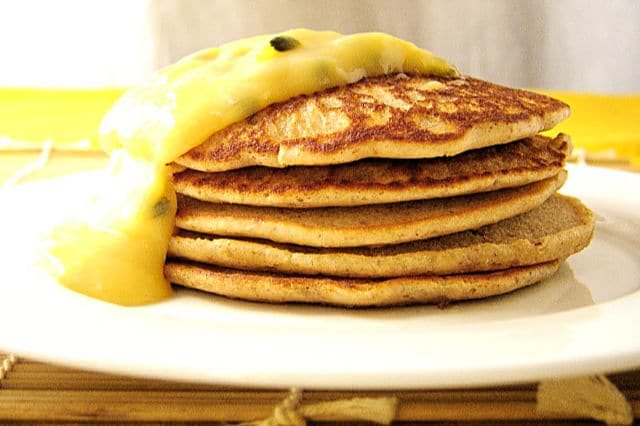 Gluten-Free Almond Meal and Buckwheat Pikelets