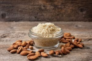 Homemade almond meal