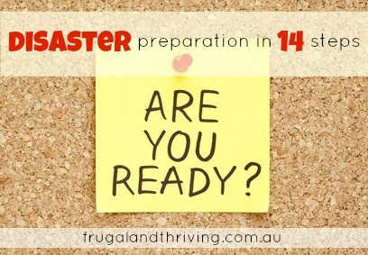emergency food storage {Disaster Prep Day 8}