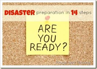 Emergency Cash - Disaster Preparation in 14 Steps
