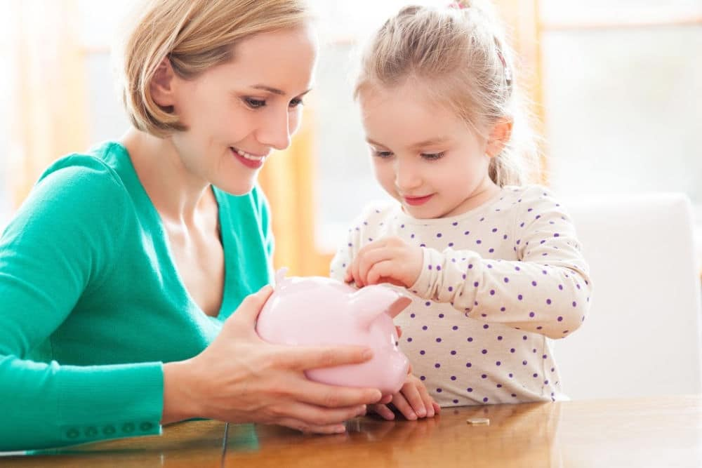 how to save money for your child