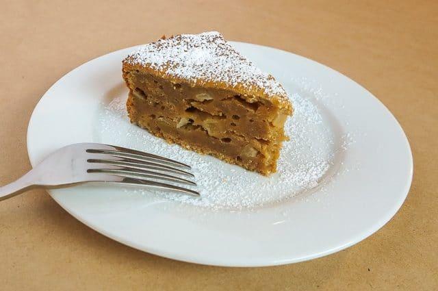 pear almond and yoghurt cake