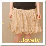 Bubble skirt refashion from Ruffles and Stuff | Frugal and Thriving