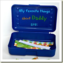 Favourite things about daddy from The House of Hendrix | Frugal and Thriving Round Up