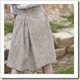 Guilded skirt from Elle Apparel | Frugal and Thriving