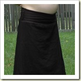 Maternity Skirt from Boulevard Designs | Frugal and Thriving