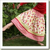 Twirly Skirt from 7 Layer Studio | Frugal and Thriving