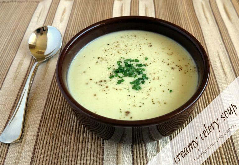 Frugal Winter Warmer: Creamy Celery Soup