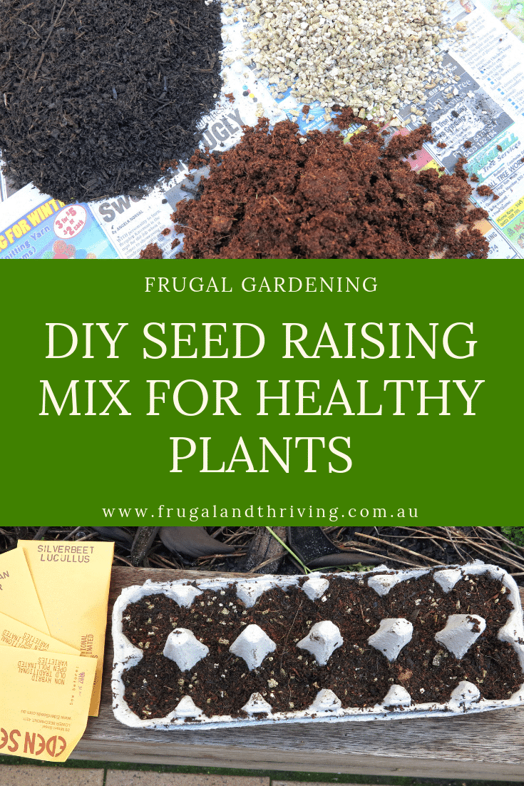 diy seed raising mix