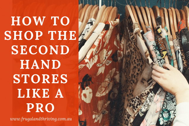 how to shop the second-hand stores like an expert