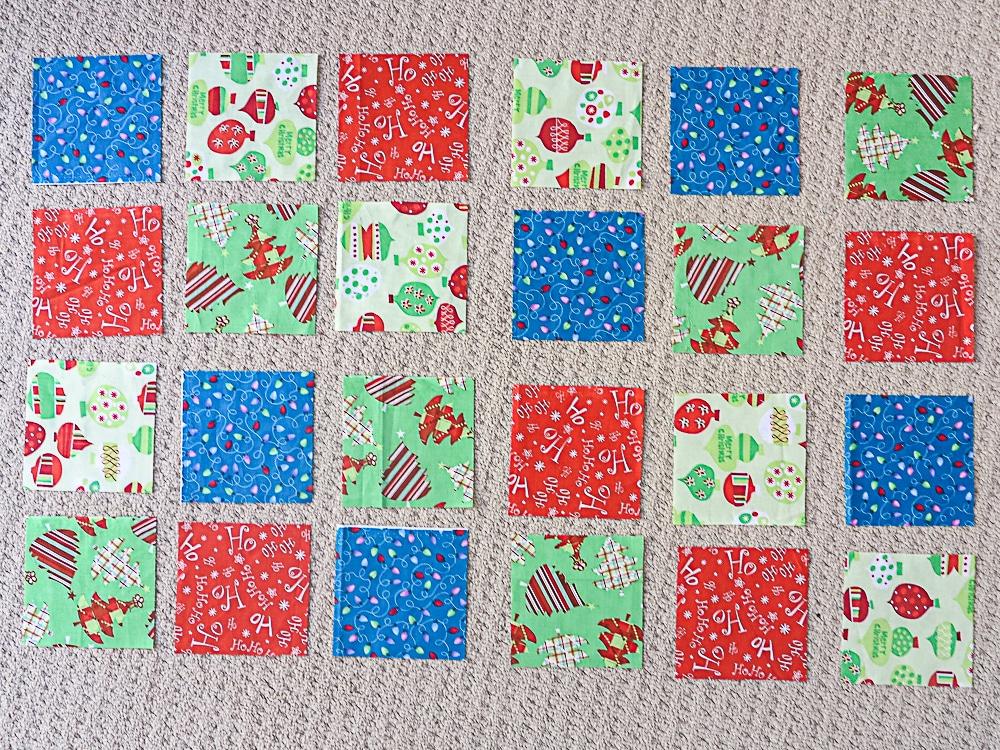 advent calendar pockets