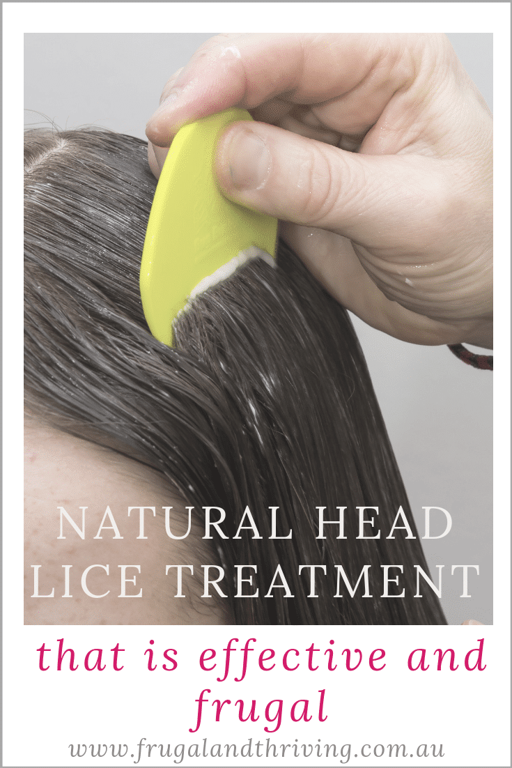 Get rid of head lice without spending a heap of money on chemicals with this natural and effective head lice treatment.