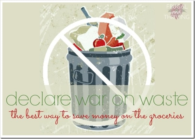 war on food waste