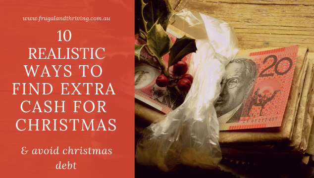 10 Realistic Ways to Find Extra Cash For Christmas