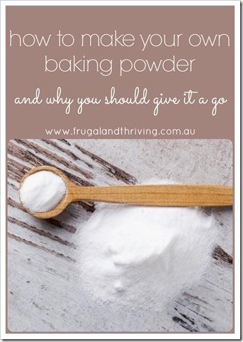 homemade baking powder pin