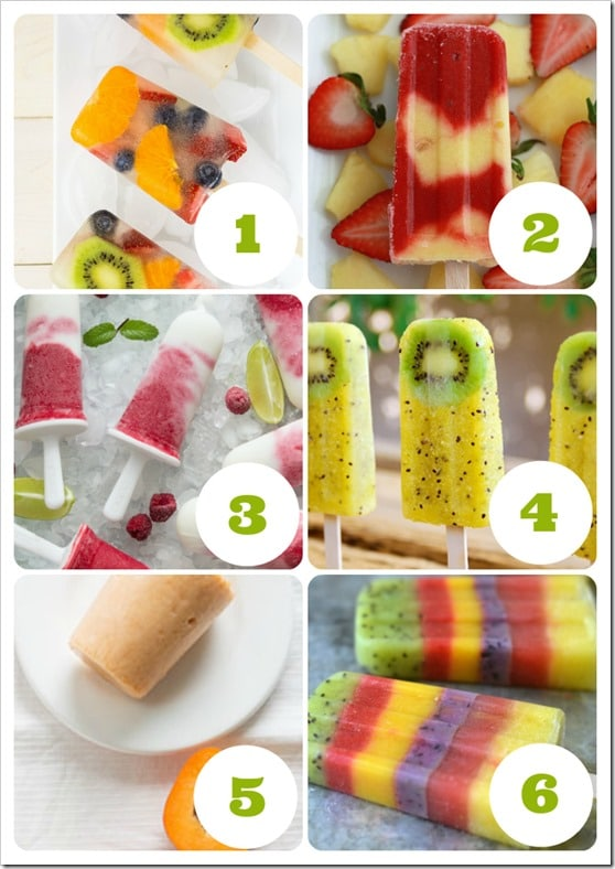 kids fruit ice block recipes that hit the spot this summer