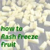 freezeing fruit