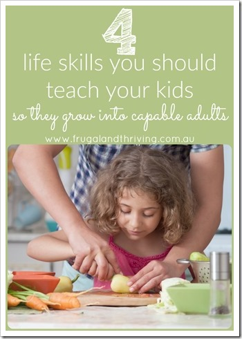 lifeskills to teach your kids