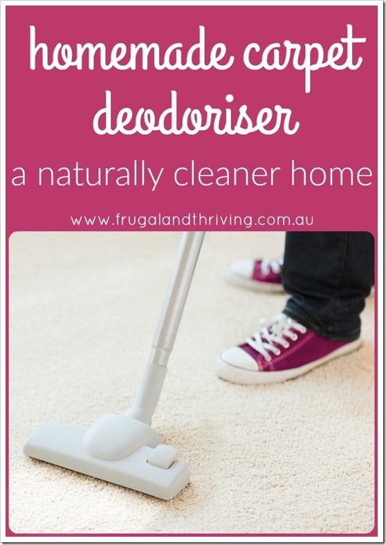 homemade carpet deodoriser