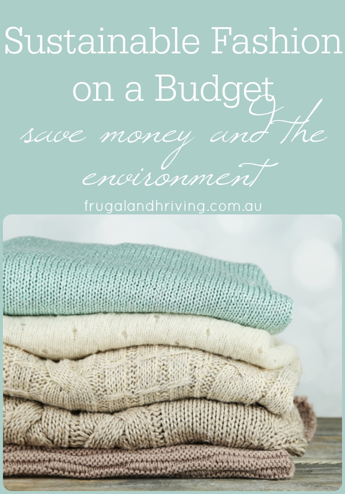affordable sustainable fashion