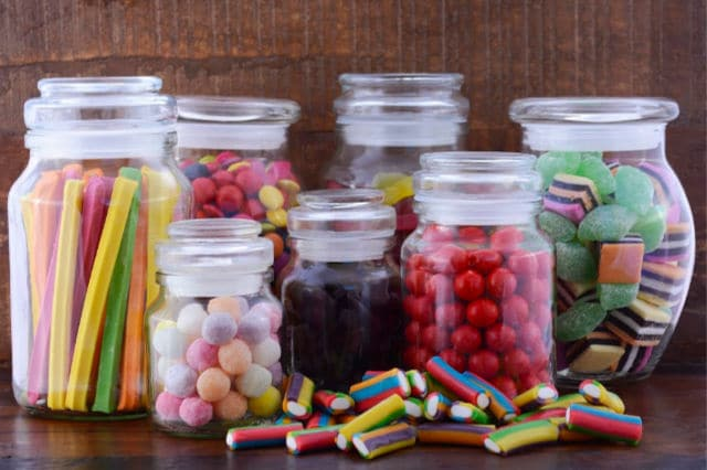 low waste gifts in jars