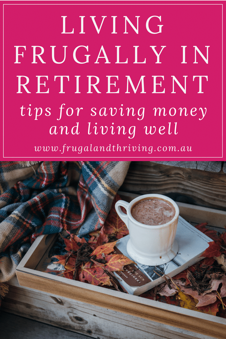 living frugally in retirement