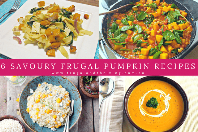 6 Savoury Pumpkin Recipes that Will Save You Money This Winter