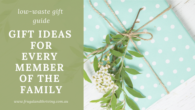 low waste gift guide