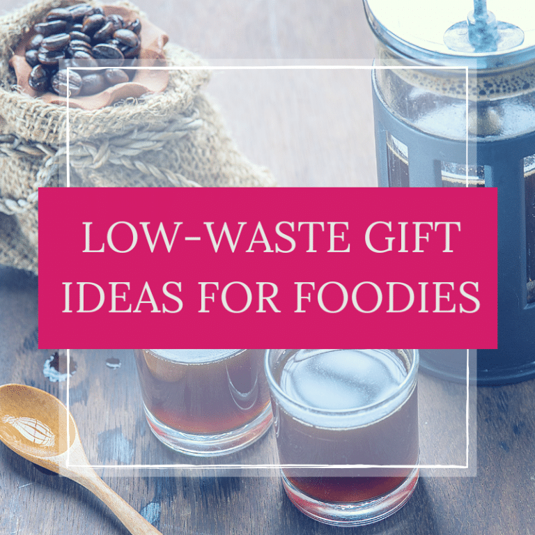 Low-Waste Gift Ideas for Foodies