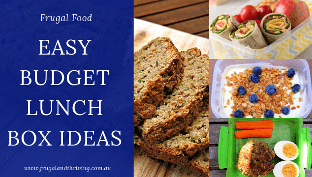 Budget Lunch Box Ideas That are Healthy and Easy