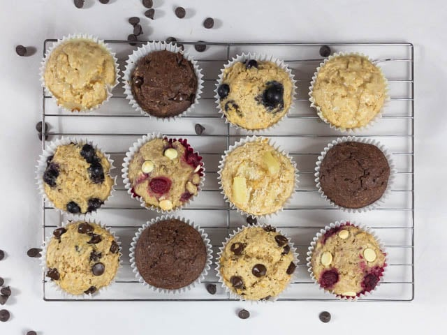 1 Basic Muffin Recipe + 52 Variations for each week of the year