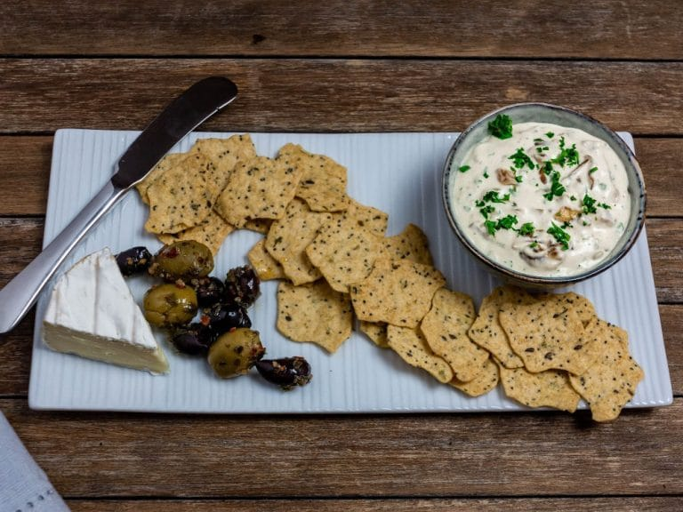 Caramelised Onion Dip {Homemade Onion Dip From Scratch)