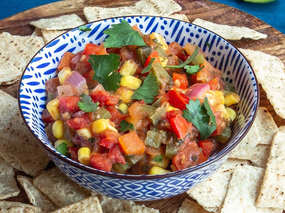 cooked tomato salsa recipe