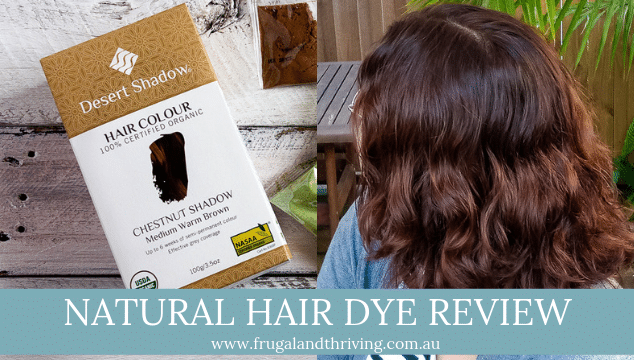 Natural hair dye review - desert shadow