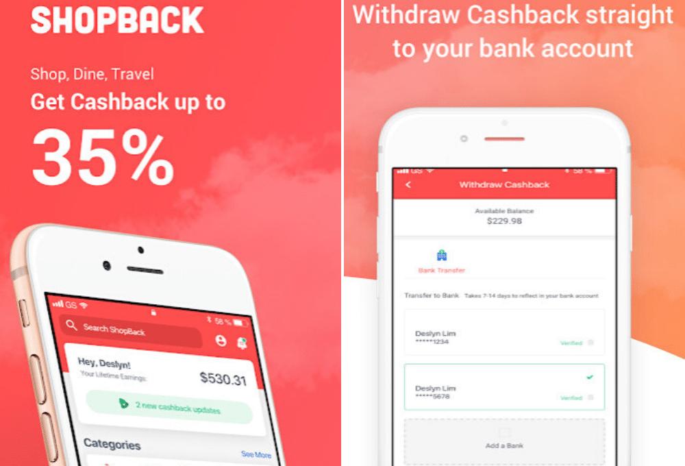 Shopback app