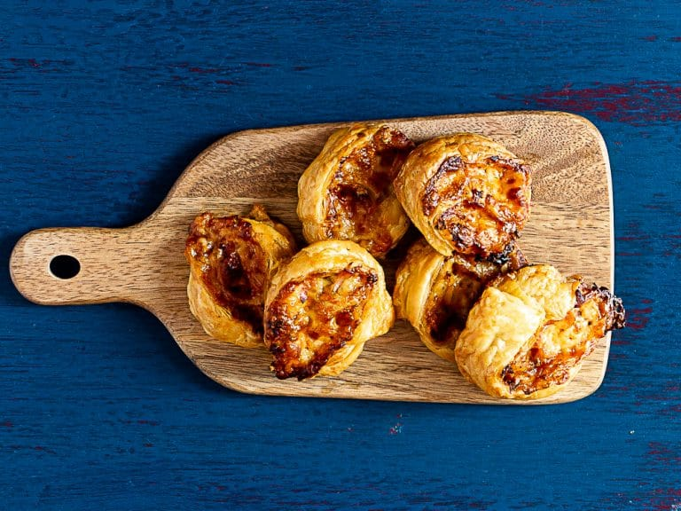 Super Easy Puff Pastry Pizza Scrolls Everyone Will Love