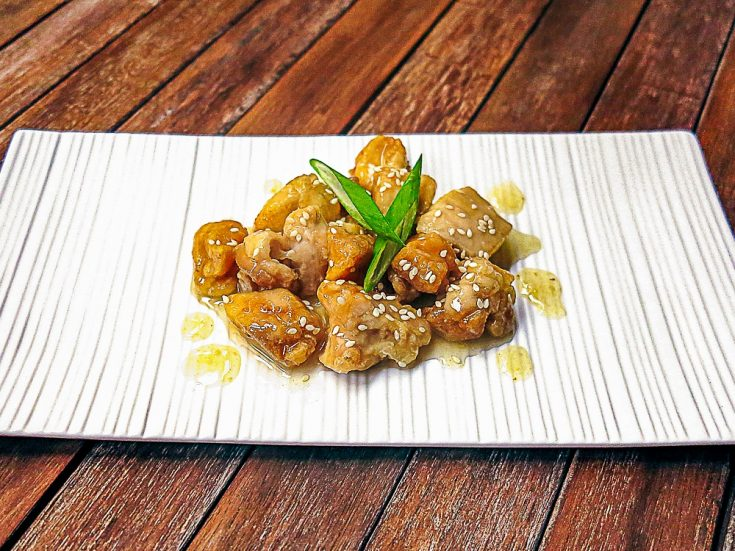 asian style lemon chicken
