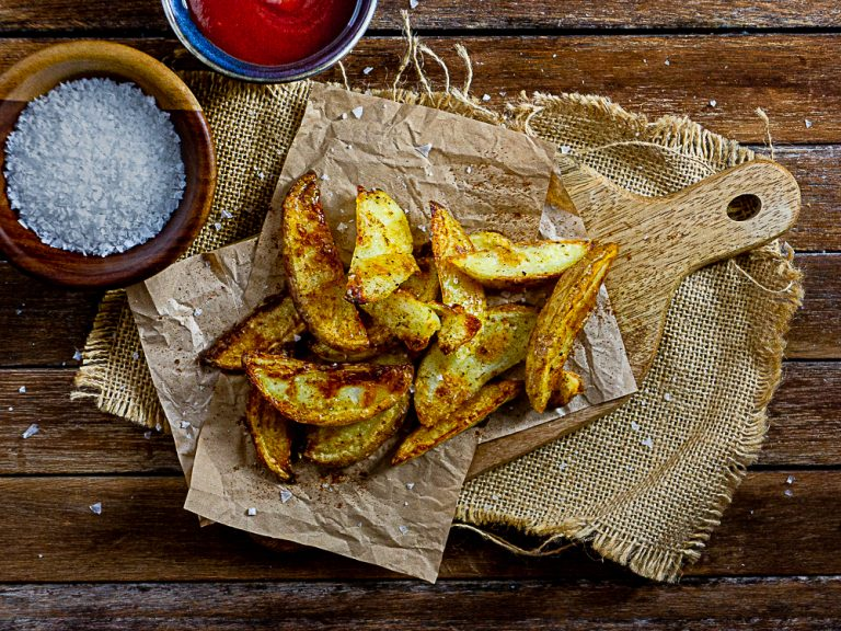 Best Homemade Crispy Baked Potato Chips
